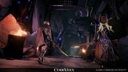 Vidéo : Code Vein : Gameplay Level Up 2017