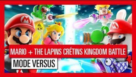 Vidéo : Mario + Lapins Crétins Kingdom Battle : Trailer mode Versus