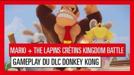 Vidéo : Mario + Lapins Crétins Kingdom Battle : Trailer gameplay DLC Donkey Kong