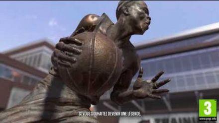 NBA 2K18 présente le quartier en vidéo