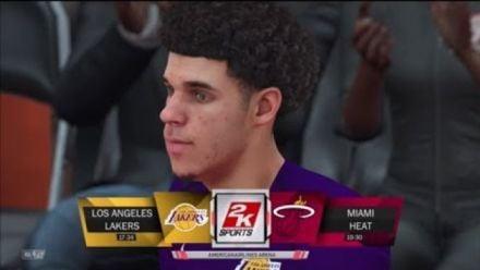 Vid�o : NBA 2K18 : 18 minutes de gameplay