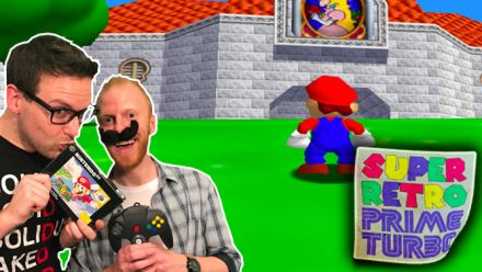 Vid�o : Super Retro Prime Turbo : Super Mario 64 avec Romain et Thomas