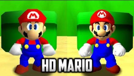 vidéo : Super Mario 64 PC : HD Mario Mod