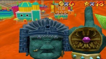 Vidéo : Super Mario Odyssey recréé dans Super Mario 64