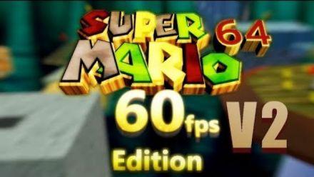 Vidéo : Super Mario 64 en 60 fps