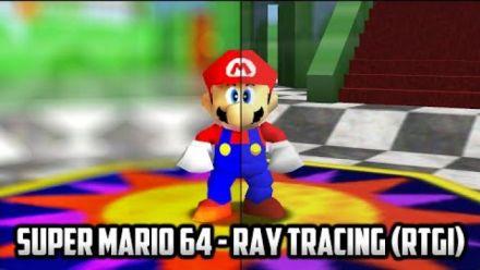 vidéo : Super Mario 64 : Ray Tracing sur le portage PC