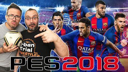 #GameblogLIVE : On se fait un petit PES 2018 sur la bêta ?
