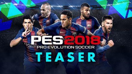 PES 2018 : Teaser trailer