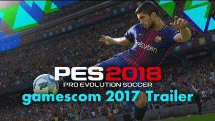 PES 2018 se montre en vidéo Gamescom (Beta date)