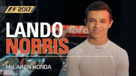 Vid�o : F1 2017 : Lando Norris teste plusieurs McLaren