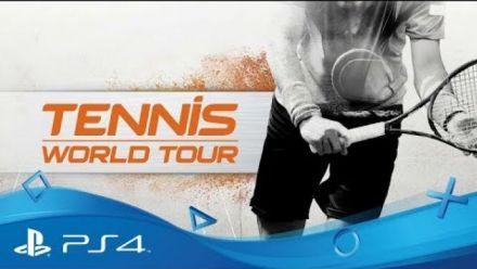 vidéo : Tennis World Tour : Vidéo de gameplay Monfils et Federer