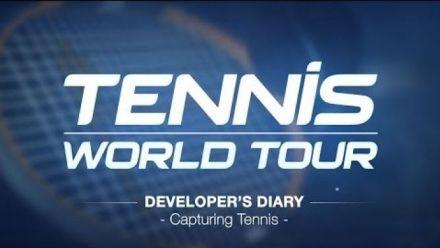 vidéo : Tennis World Tour : Developer's Diary Janvier 2018 + Gameplay