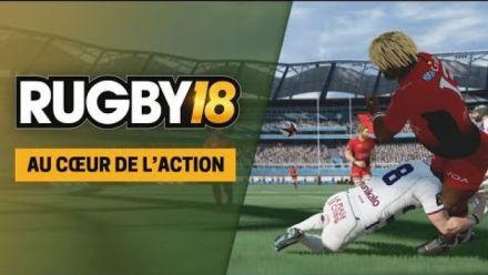 Rugby 18 se lance en vidéo