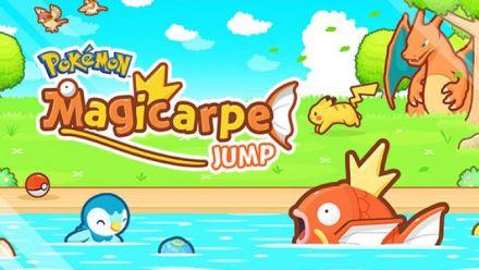 Vidéo : Pokémon Magicarpe Jump en trailer de lancement