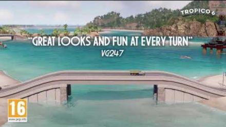 Vid�o : Tropico 6 : La bande annonce version console
