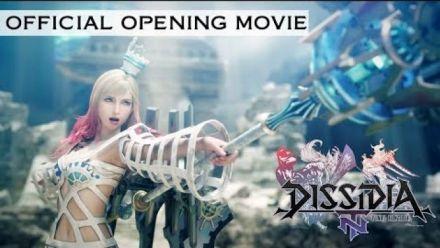 Vid�o : Dissidia Final Fantasy NT : Cinématique d'ouverture
