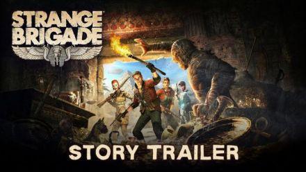 Strange Brigade - Trailer d'histoire