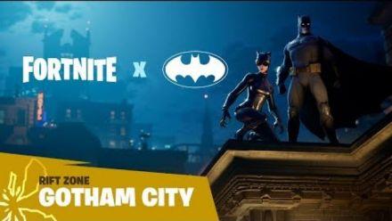 vidéo : Fortnite : Rift zone Gotham City