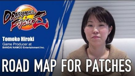 Tomoko Hiroki parle des patchs de Dragon Ball FighterZ