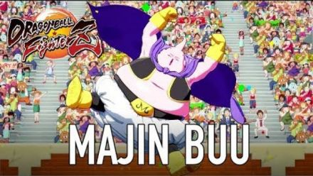 Dragon Ball Fighterz : Trailer Majin Buu