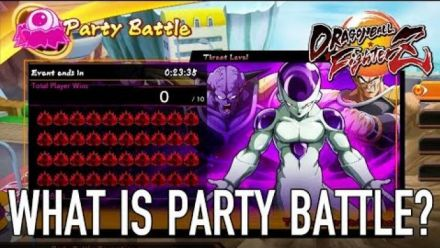 Dragon Ball FighterZ : Nouveau Mode Party Battle