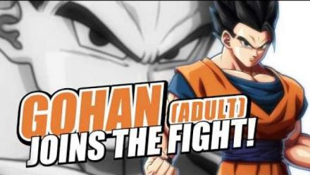 Dragon Ball FighterZ : Vidéo Gohan adulte