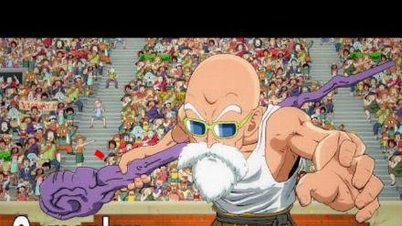 Vid�o : Dragon Ball FighterZ : Vidéo de gameplay Kame Sennin