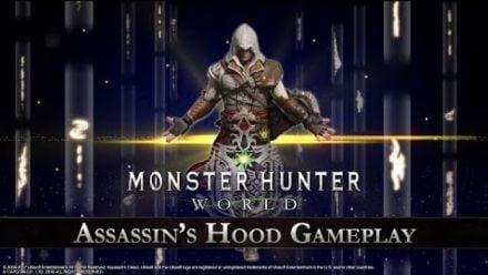 Vid�o : Monster Hunter World : Gameplay Assassin's Creed