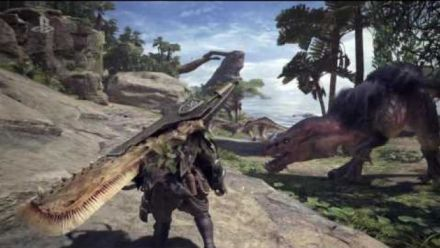 Monster Hunter World E3 2017 Gameplay Trailer