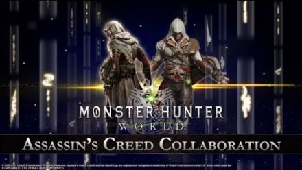 Monster Hunter World : Assassin's Creed Collaboration Trailer