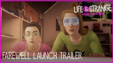 Vidéo : Life is Strange Before the Storm - Trailer Adieux