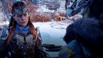 Horizon Zero Dawn The Frozen Wilds : 10 minutes de gameplay