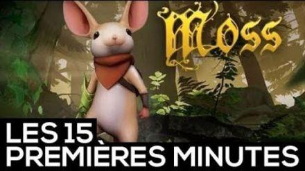 Vid�o : Les 15 premières minutes de Moss sur PS4 (PlayStation VR)