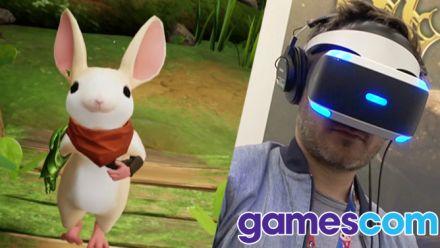 Vid�o : Gamescom : Moss, nos impressions sur un jeu PS VR tout mignon