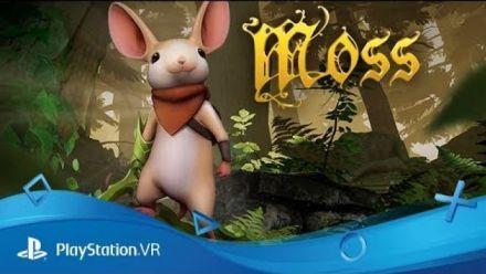 Vid�o : Moss (PSVR) - Trailer de lancement