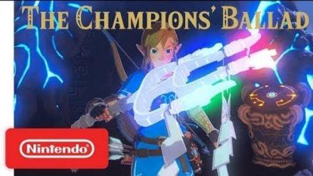 Zelda BOTW Ode aux Prodiges Trailer Game Awards 2017