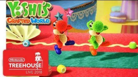 Vidéo : Yoshi's Crafted World : Direct du Nintendo Treehouse