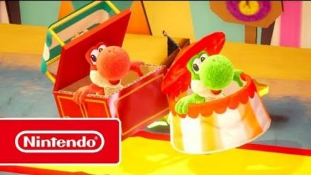Vid�o : Yoshi's Crafted World : Trailer coopératif
