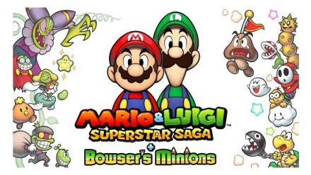 Vid�o : Mario & Luigi Superstar Saga + Les sbires de Bowser - Bande-annonce E3 2017 (Nintendo 3DS)