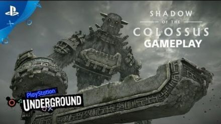 Shadow of the Colossus Gameplay du PSX 2017