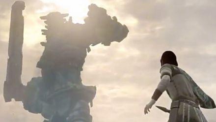 TGS 2017 : nouveau trailer pour Shadow of the Colossus PS4