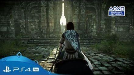 Shadow of the Colossus prend date en vidéo