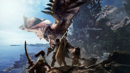 Monster Hunter World présente à la Gamescom
