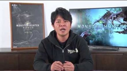 Mosnter Hunter World : Ryozo Tsujimoto parle de la version PC