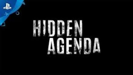 Vid�o : Hidden Agenda Trailer E3 2017 - Playlink