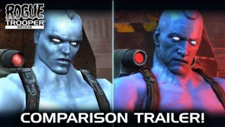 Vid�o : Rogue Trooper Redux : Vidéo de comparaison