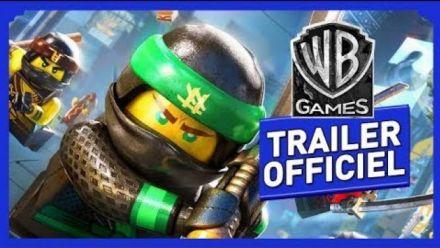 Vidéo : LEGO Ninjago Le Film Le Jeu Vidéo Trailer Sortie