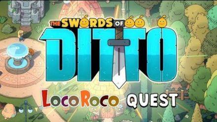 Vidéo : The Swords of Ditto : LocoRoco Quest