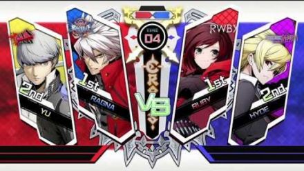 Vid�o : BlazBlue Cross Tag Battle : Play Movie