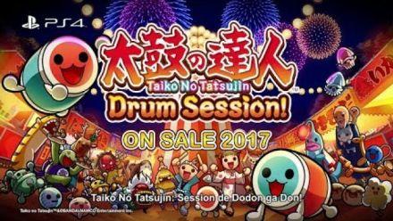 Vidéo : Taiko no Tatsujin : Drum Session! : Trailer d'annonce
